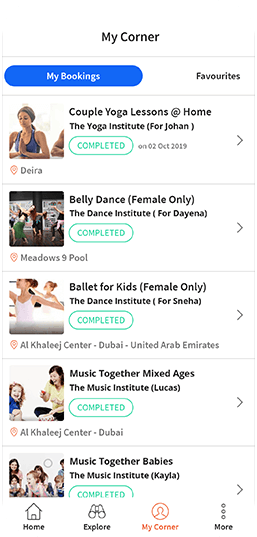 courses in Dubai